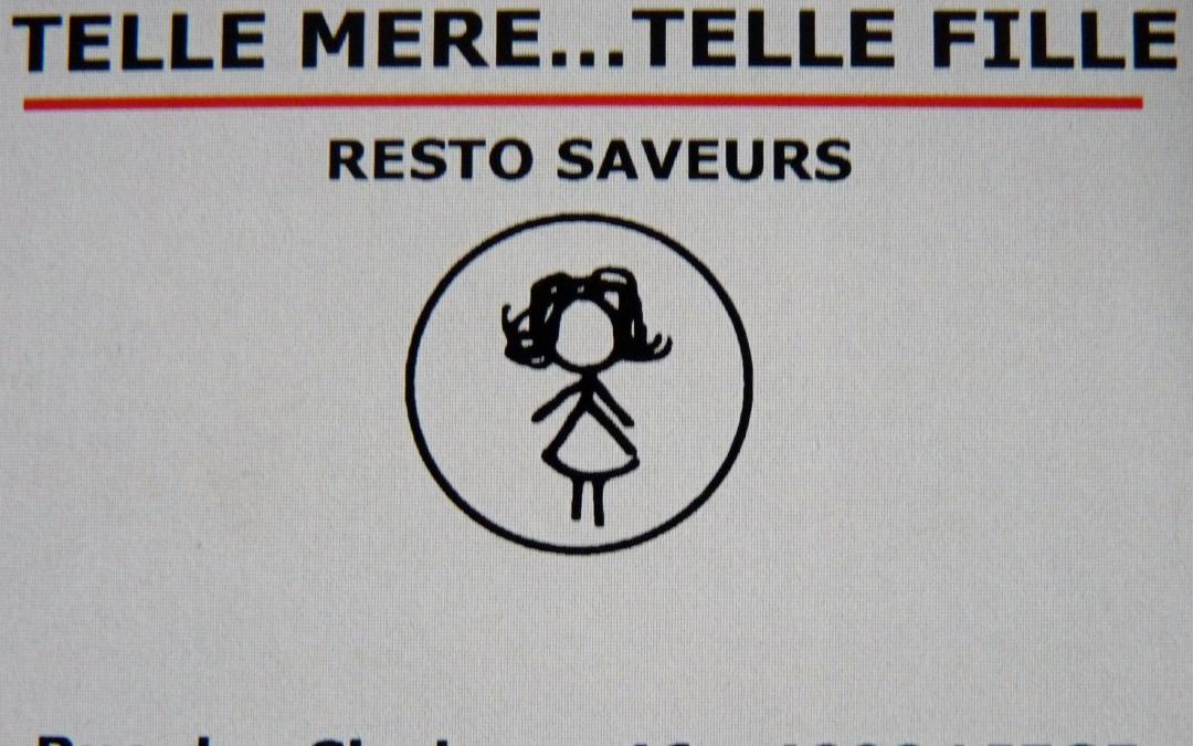 Telle mère … telle fille (Liège)